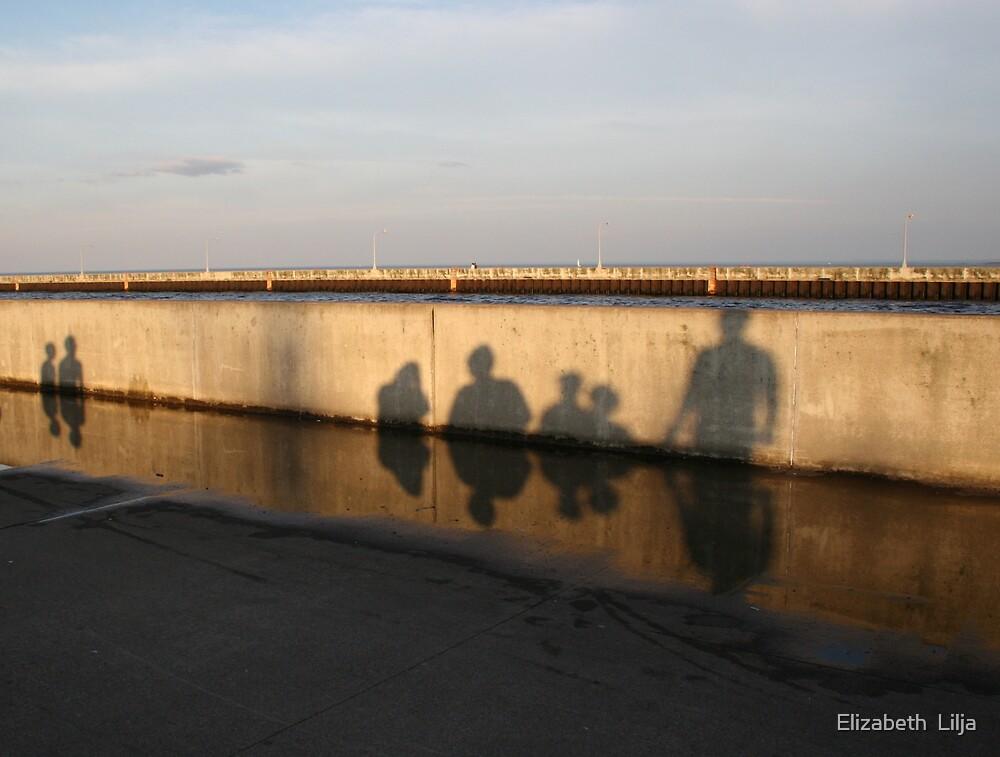 Shadowy People by Elizabeth  Lilja