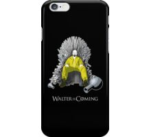 Breaking Bad - Walter is Coming iPhone Case/Skin