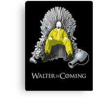 Breaking Bad - Walter is Coming Canvas Print