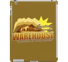 Greetings from the Warehouse iPad Case/Skin
