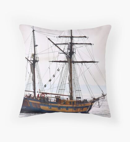 Hawaiian Chieftain Throw Pillow