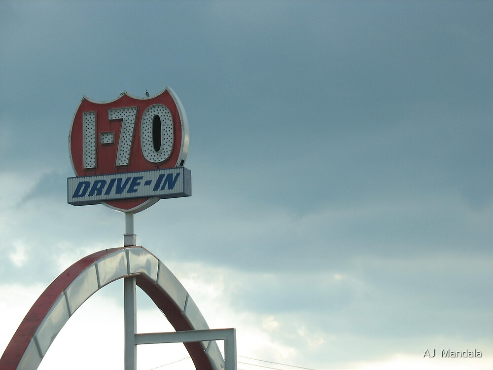 I-70 Drive-in Theater by AJ  Mandala