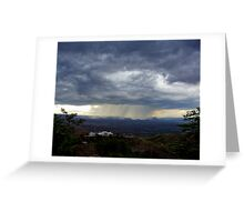 The Approach II Greeting Card