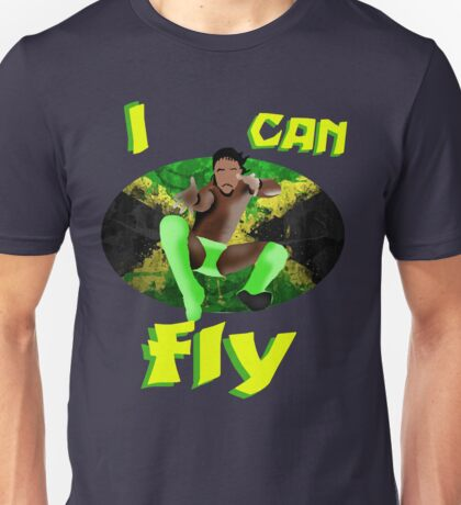 I can FLY | Kofi Kingston Unisex T-Shirt
