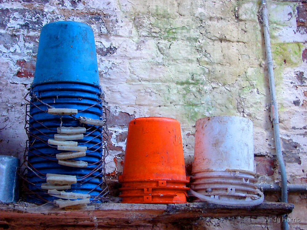 Buckets by Andy Harris