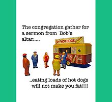 The congregation gather at the altar!! by Tim Constable