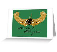 Mischief Managed ALT Greeting Card