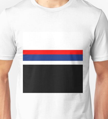 Team Colors 2,,,red ,white and blue Unisex T-Shirt
