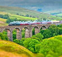 Dent Dale Viaduct (Tilt 'n' Shift) by Stephen Knowles