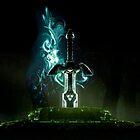 The legend of Zelda - Link sword Excalibur by ghoststorm