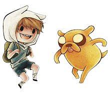 Finn & Jake ! by MonHood