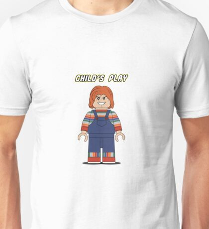 Child's Play Chucky Lego Unisex T-Shirt