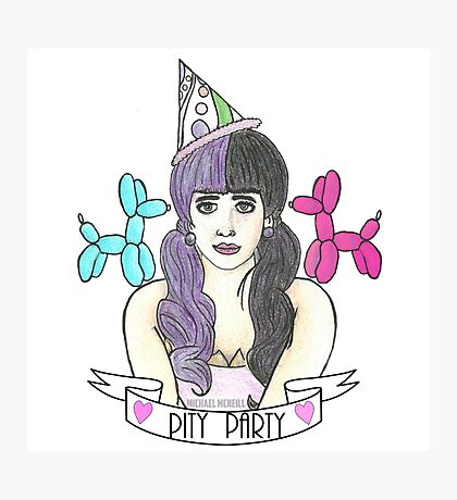 Pity Party Photographic Print