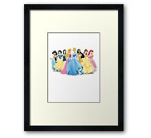 Disney Princesses Framed Print