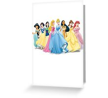Disney Princesses Greeting Card