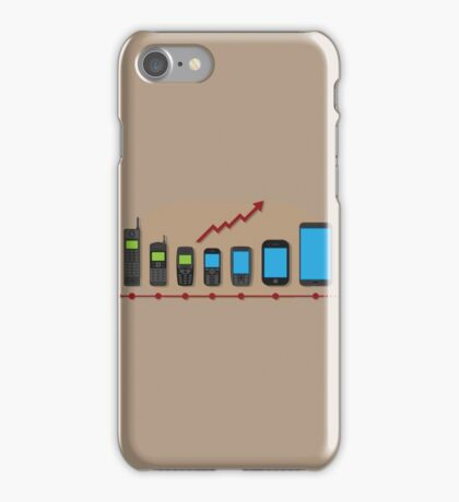 mobile phone evolution iPhone Case/Skin