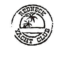 Redneck Yacht Club Photographic Print