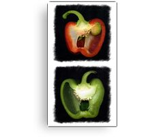 Peppers Canvas Print