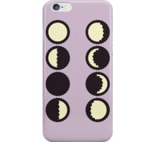 Moon Phases iPhone Case/Skin