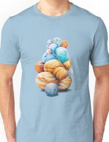 Planetary Pile-Up Unisex T-Shirt