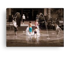 Center of Attention Canvas Print