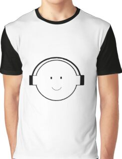 boy with headphones Graphic T-Shirt