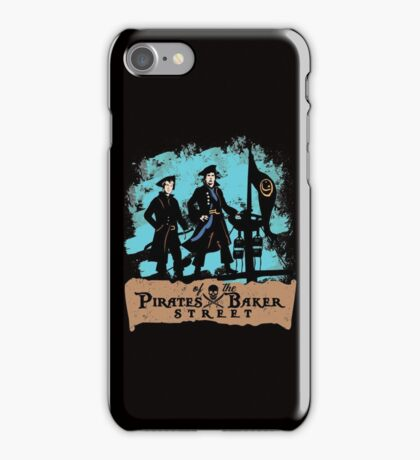 Pirates of the Baker Street. Sherlock and Watson. iPhone Case/Skin