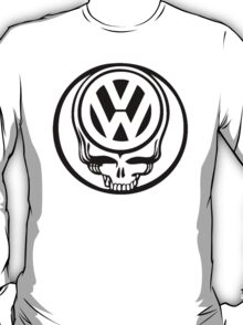 VW Dead Head black T-Shirt