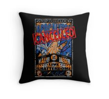 Catagory 5 excitement! Throw Pillow