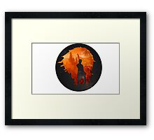 Leaving Gallifrey Framed Print