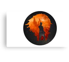 Leaving Gallifrey Canvas Print