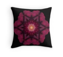 Beach Rose I Throw Pillow