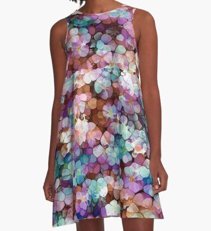 Summer flowers A-Line Dress