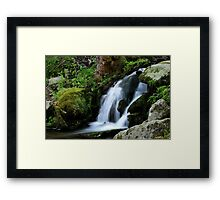 Whispering Waters Framed Print
