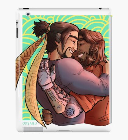 let them hug!!! iPad Case/Skin
