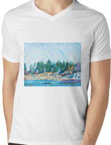Portsmouth Mens V-Neck T-Shirt