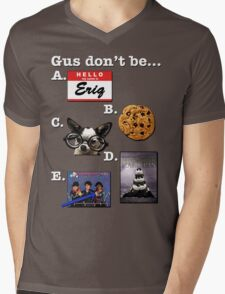 Multiple Choice Gus Mens V-Neck T-Shirt