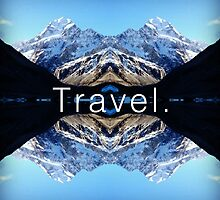 Travel. Mount Cook by Venerie