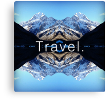 Travel. Mount Cook Canvas Print