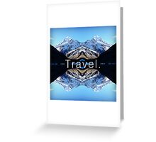 Travel. Mount Cook Greeting Card