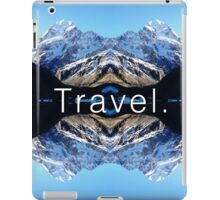 Travel. Mount Cook iPad Case/Skin