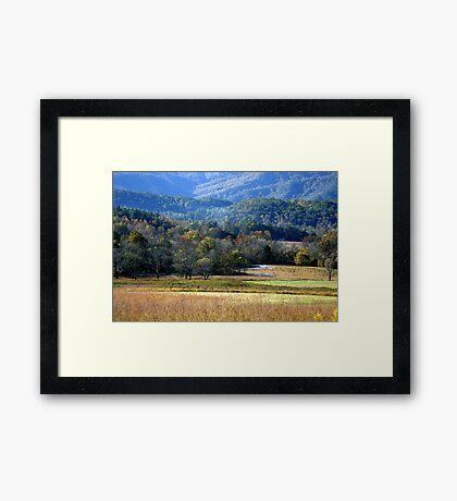 Hint Of Fall Framed Print