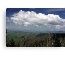 Great Smoky Mountains II Canvas Print