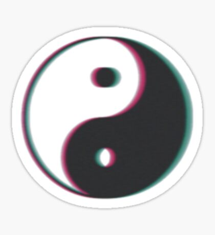 YING & YANG Sticker