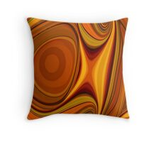 Citrus Kissed Throw Pillow