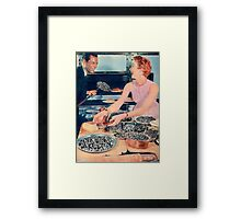 THE HUMANS ARE READY EAT Framed Print