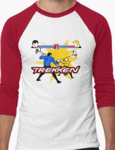 TREKKEN Men's Baseball ¾ T-Shirt