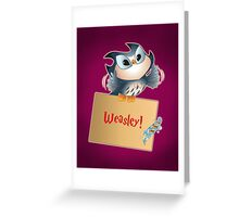 Pigwidgeon Greeting Card