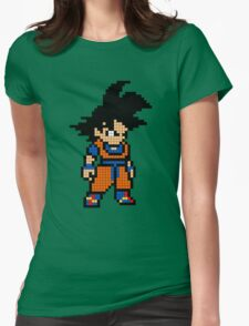 Goku 8MB Womens Fitted T-Shirt