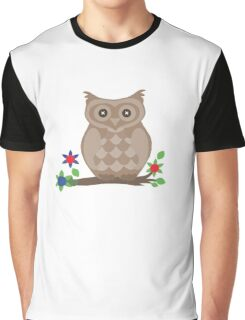 Owl. The Cutest Owl. Graphic T-Shirt